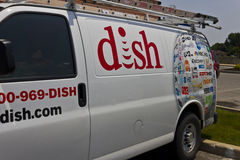 DISH Network Company Vehicle. DISH is an American Satellite Service Provider I. Indianapolis - Circa June 2016: DISH Network Company Vehicle. DISH is an American Royalty Free Stock Image