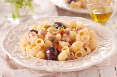 Dish of pasta Stock Images
