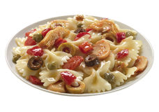 Dish of pasta Stock Image