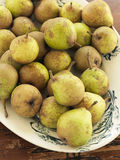 Dish of pears Royalty Free Stock Images