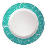 Dish plate Royalty Free Stock Image