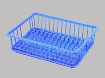 Dish rack shelf Stock Photo