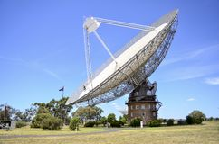 The Dish. The radio antenna made famous in the Australian movie `The Dish` at Parkes Observatory in New South Wales, Australia stock image