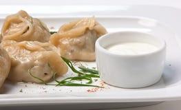 Dish of ravioli Royalty Free Stock Images