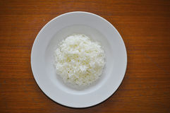 A dish of rice Royalty Free Stock Photos