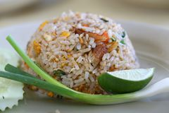 Dish, Rice, Thai Fried Rice, Cuisine stock photography