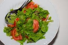 Dish of salad Stock Photography