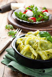 Dish of savory Italian tortellini Royalty Free Stock Photography
