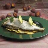 Dish of sea bream 02 Stock Image