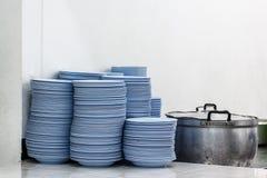 Dish shelves Stock Photography