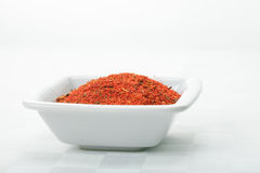 Dish with spice mixture for fish courses Stock Images