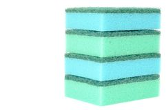 Dish sponge Royalty Free Stock Images