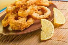 Dish of squid Stock Photos