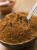 Dish of Tikka Masala Powder Stock Photography