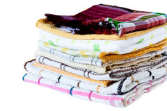 Dish towel Stock Images