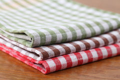 Dish towels Stock Photos