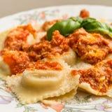 Italian Ravioli Dish Royalty Free Stock Image