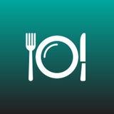 Dish vector icon illustration graphic design. Stock Photos