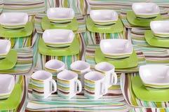 Dish ware. Stock Photos