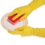 Dish wash Royalty Free Stock Images