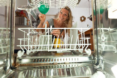 dish washer Royalty Free Stock Photos