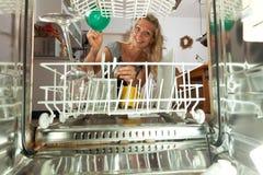 Dish washer Royalty Free Stock Photos