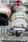 Dish washer Stock Image