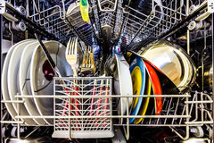 Dish washer Royalty Free Stock Photo
