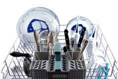 Dish-washer horizontaal Royalty Free Stock Image