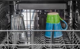 Dish washer Stock Photo
