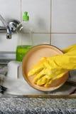 Dish washing stock photos