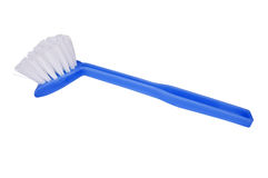Dish washing brush Stock Photos