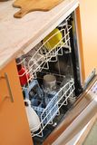 Dish washing machine Stock Image