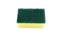 Dish washing sponge Royalty Free Stock Image