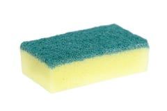 Dish washing sponge isolated Stock Photography
