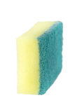 Dish washing sponge isolated Stock Photo