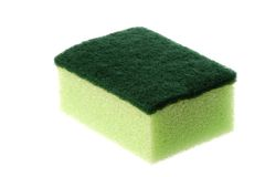 Dish Washing Sponge Isolated Stock Images
