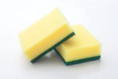 dish washing sponge Royalty Free Stock Photography