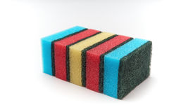 Dish washing sponge Royalty Free Stock Photo