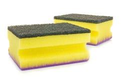 Dish washing sponges Royalty Free Stock Photo