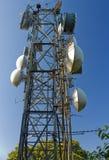 dishers спутниковые Стоковые Фотографии RF