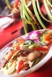 dishes гриб мяса Стоковое Изображение