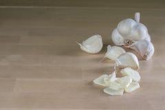 dishes специя подготовки чеснока головная Стоковые Фотографии RF