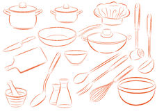 Dishes Royalty Free Stock Image