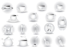 Dishes Royalty Free Stock Photo