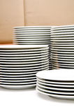 Dishes in buffet party Stock Images