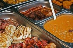 Dishes-1 diferente Imagem de Stock