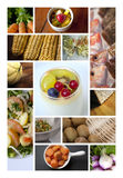 Dishes and ingredients Royalty Free Stock Photos