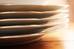Dishes set Royalty Free Stock Image