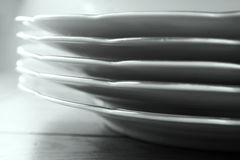 Dishes set Stock Images
